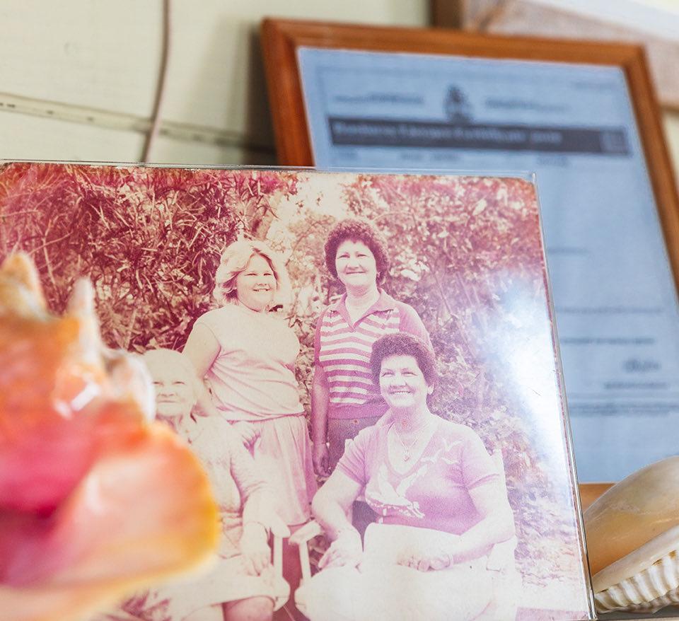 Annie Albury family photo