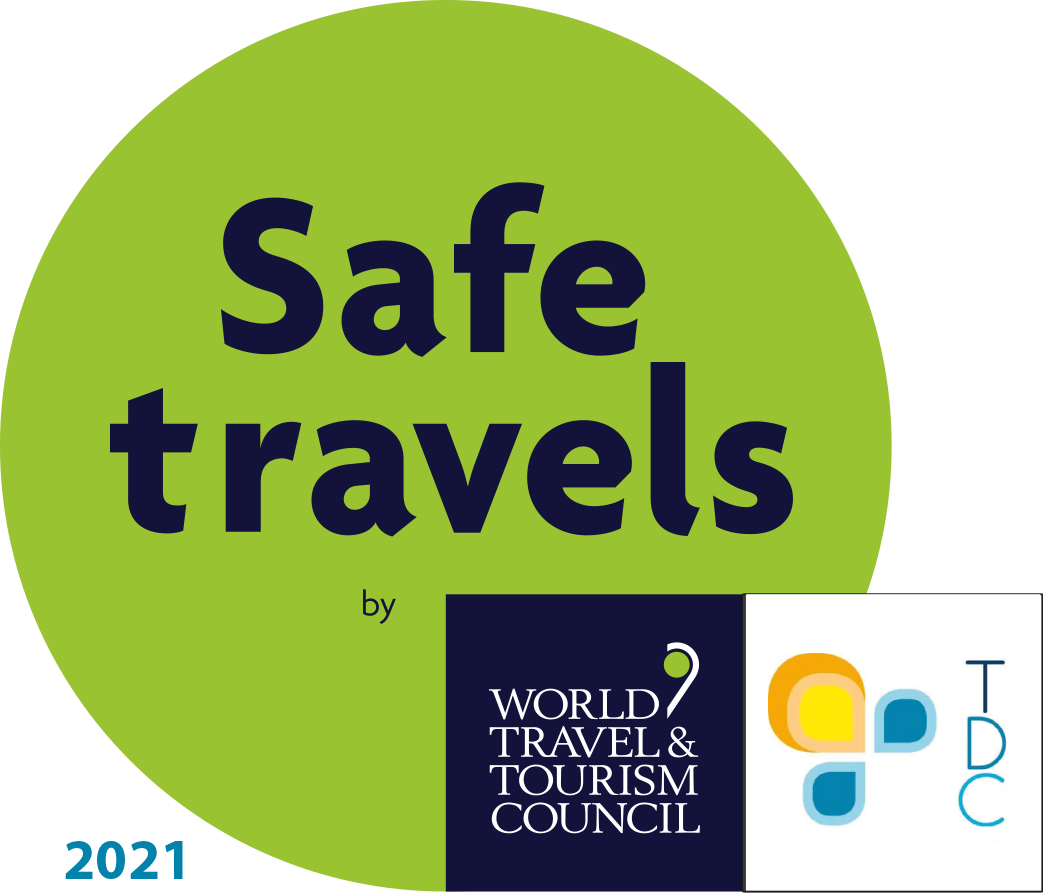 safe travels badge