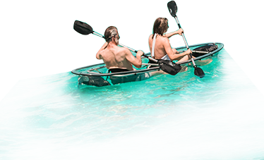 Peple on a Kayak